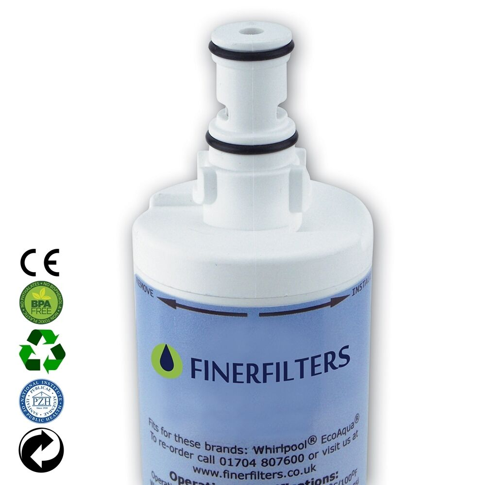 2 X Finerfilters Compatible Whirlpool American Style
