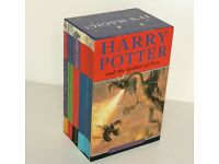 Harry Potter Book Boxed Set It's Magic First Four Books J K Rowling 1- 4