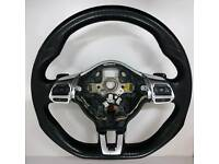 Vw Volkswagen Scirocco Golf Caddy T5 Multi Function Steering Wheel DSG Paddle