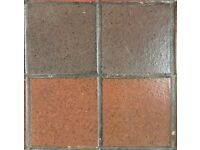 Reclaimed Quarry tiles 15cm x 15cm Qty 500-600 - collection only from Bromley (BR1)