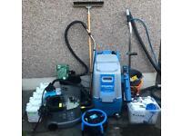 Prochem steempro powerflo carpet cleaning machine and full equipment