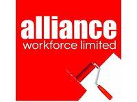 Painters & Decorators internal works on new build houses in Shrewsbury £14.00hr