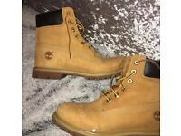 "Timberland premium 6"" boots size UK7"