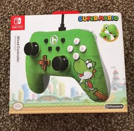 Yoshi - Wired Controller for Nintendo Switch brand new sealed