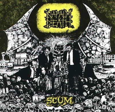 Napalm Death 'Scum' Black Vinyl - NEW FDR Full Dynamic Range