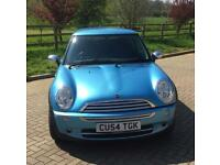 Mini One 3 Door Hatchback 2005 Electric Blue