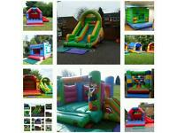 Bouncy castles HIRE all day adults kids slides