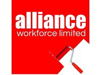 Painters & Decorators - £13ph - Gloucestershire- Call Alliance Workforce 01132026050