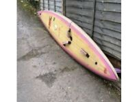 Windsurf or padle board