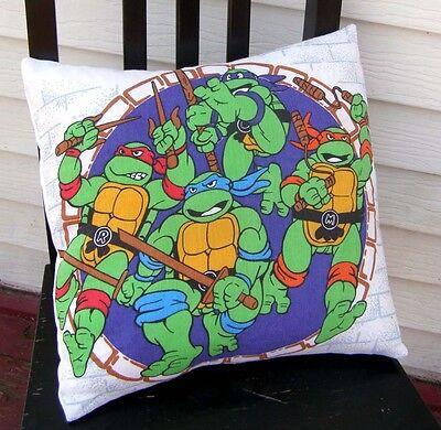 TEENAGE MUTANT NINJA TURTLES Pillow Case TMNT Pillowcase PURPLE Home Decor - Teenage Mutant Ninja Turtles Pillow Case