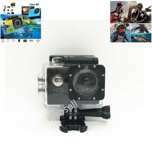 HD 1080P Action/Sport/Waterproof/Go Pro Wifi Camera Recorder Helmet Kits Black