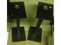 Pair of Cliff Stone `Foundation` speaker stands