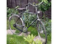 Vintage Batavus Cambridge Gents Dutch Town bike, 5 speed, man