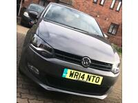 VOLKSWAGEN POLO 2014 5 door match edition AUTOMATIC 1.4 DSG IMMACULATE