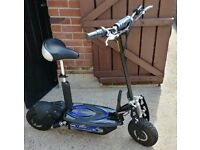 Rocket Electric Motor Scooter, top speed of 25 mph