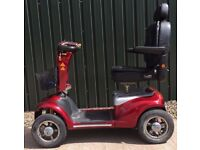 Extra Large 8mph full suspension Mobility Scooter - Shoprider Cordobra