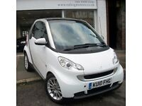 2010 SMART FORTWO COUPE PETROL AUTO,POWER STEERING,PASSION,SAT NAV,BLUETOOTH,AIR CON,FSH,WARRANTY