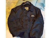 Alpha Industries CWU Navy Blue Flight Jacket XXL
