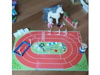 Sylvanian Families sports day and dressage set