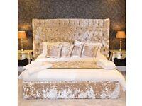 Stunning Crushed Velvet Beds