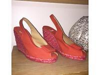 Caytamen Red Heels Like New