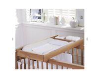 Mothercare Knightsbridge Cot Top Changer. Brand new in box