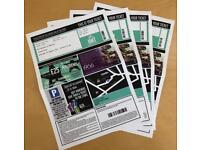 Jersey Boys Tickets x4 HMT Aberdeen