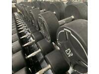 Dumbell set 2.5kg to 30kg commercial grade