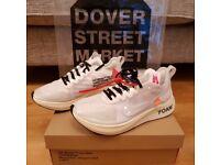 Nike x Off White Zoom Fly, UK size 9, The Ten, Virgil Abloh