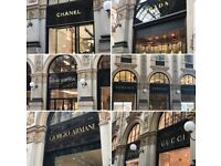 Christmas Shopping Experience in Milan