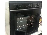 SMEG,BLACK ELECTRIC FAN OVEN/GRILL. REAL QUALITY UNIT,IMMACULATE CONDITION.
