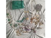 Large bundle of costume jewellery
