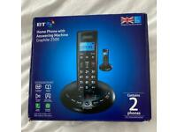 BT phones (pair) with answering machine