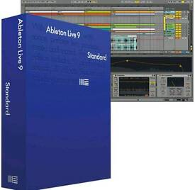 Ableton Live 9 Standard DAW Software.