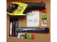 Ryobi LRS180 18volt cordless reciprocating saw