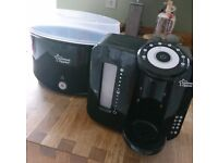 Excellent condition! Tommy tippee Set, steriliser & perfect prep!