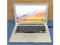Apple MacBook Air Mid 2013 Intel Core i7 8GB RAM 128GB SSD OS X 10.13.2 Sierra High (A1466)