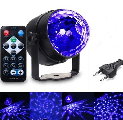 UV Magic Rotating Kugel LED Schwarzlicht Bühnenbeleuchtung DJ Disco Lichteffekt  ()
