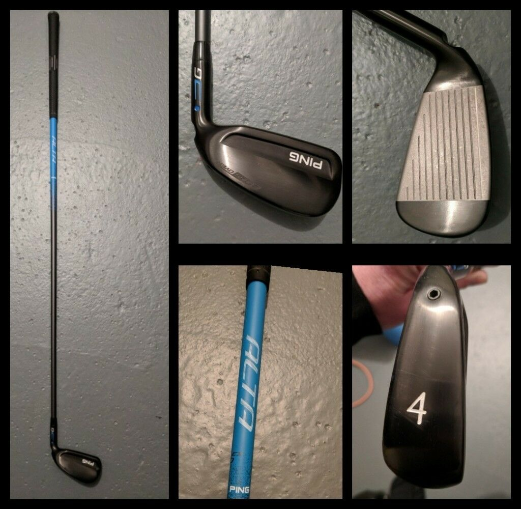 Ping G Series Cross Over 4 Iron Ping Alta Graphite Shaft Stiff Flex