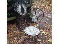 A set of 4 garden chairs £45