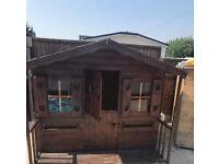 Wooden shed, house ,play house, dolls house, Wendy house