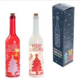 LED wine bottle light BNIB - Xmas Elf design