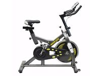 Spin Bike Exercise Spinning Bike with Spring Suspension System Brand New 12 Mth Warranty