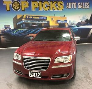 2012 Chrysler 300 LIMITED, LEATHER, SUNROOF, NAVIGATION!