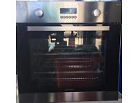 Stainless steel fan oven with grill look like new condition for sale