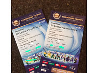 2 x TICKETS (Silver)- South Africa VS Sri Lanka - 3rd JUNE - The OVAL - £40 each