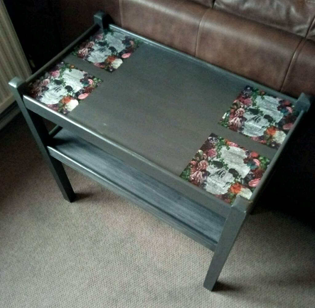 Upcycled skull coffee table in wisbech cambridgeshire gumtree upcycled skull coffee table geotapseo Gallery