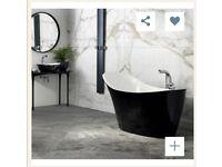 Black Slipper type Bath