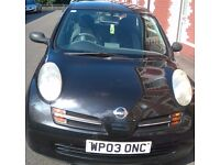 Nissan Micra E for Sale. Very low mileage
