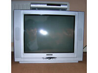 TV 21'' Goodmans CRT old style (big back) TV